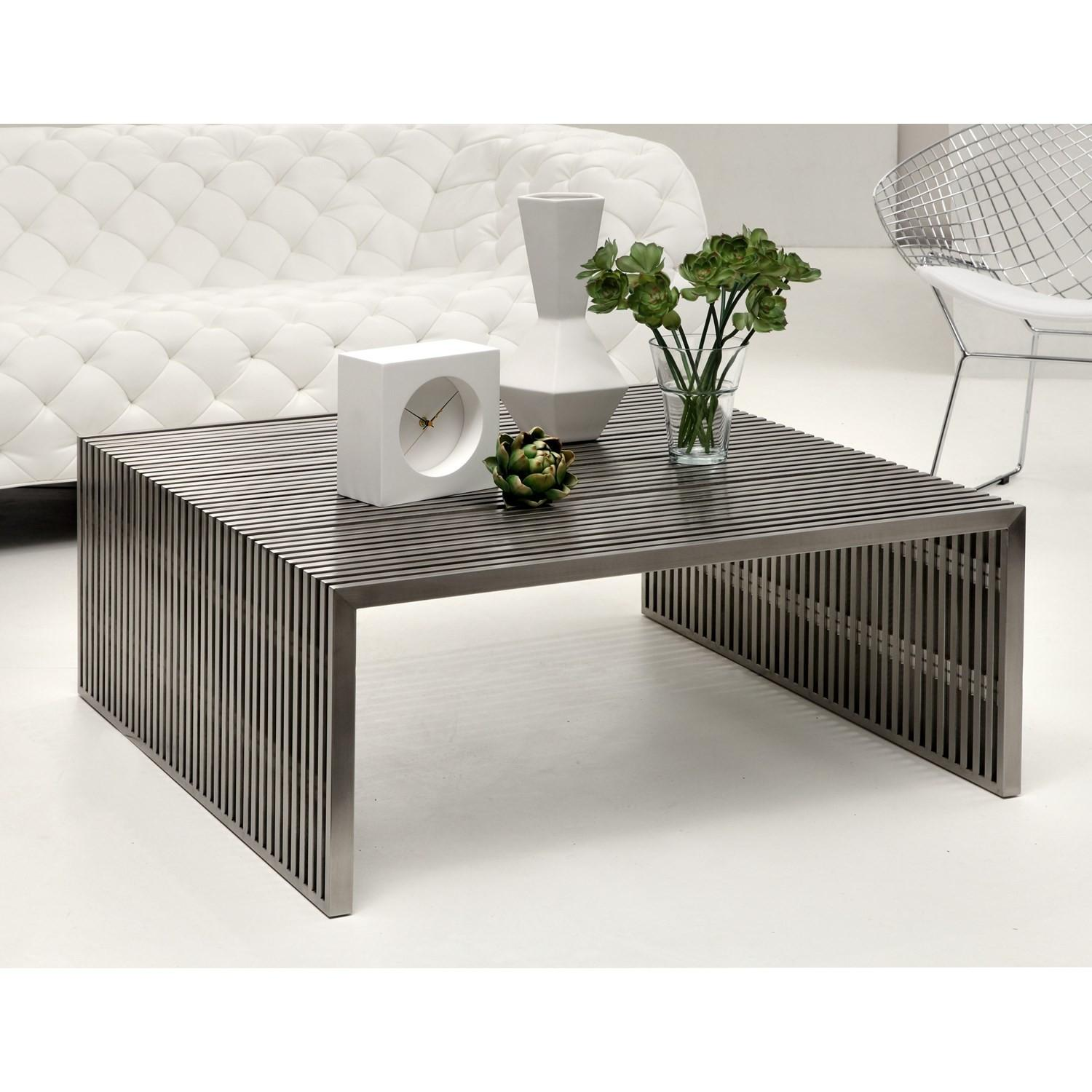 Zuo Modern Furniture Novel Square Coffee Table
